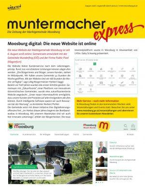 Muntermacher Express, August 2018