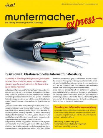 Muntermacher Express März 2019