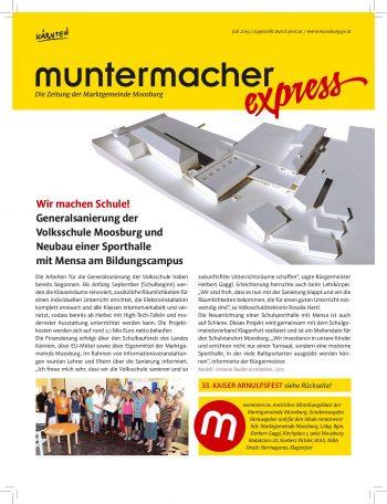 Muntermacher Express Juli